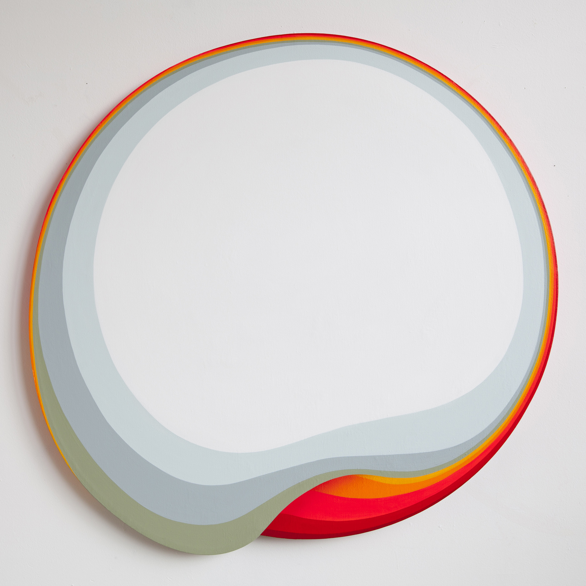 Jan Kaláb - 120cm_White Rainbow